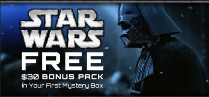 Geek Fuel Deal: Free Star Wars Bonus Pack+ Christmas Delivery!