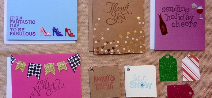 Happy Paper Card Club Review – December 2015