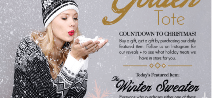 Golden Tote Buy A Gift, Get A Gift – December 2015 Tote Deal
