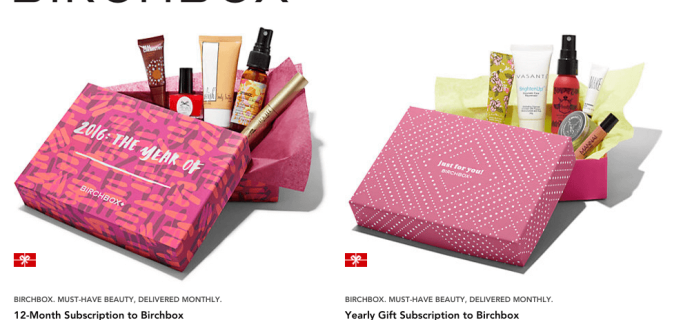 Birchbox on RueLaLa – 20% Off Annual Subscriptions