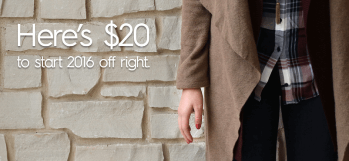 Last Chance for Wantable Style Edit Free Styling Fee!