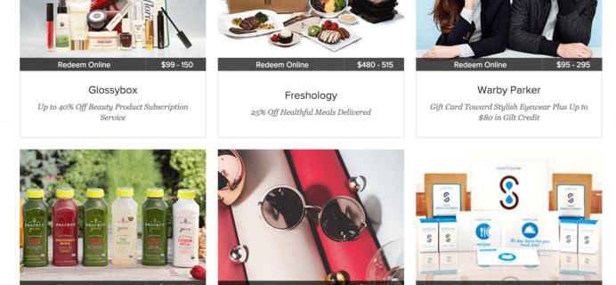 Gilt City Subscription Box Deals – 40% Off Today Only!