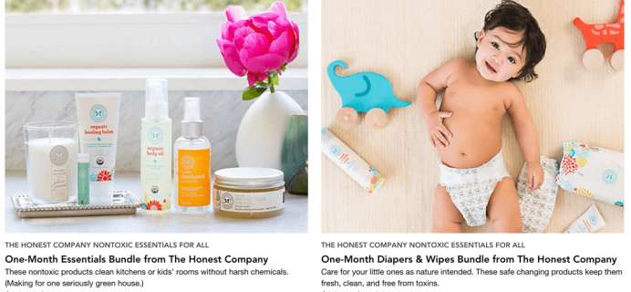 Honest Company Deals on RueLaLa!