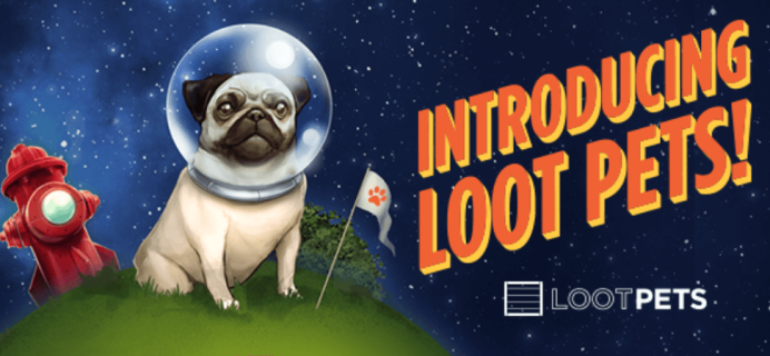 Loot Pets by Loot Crate On Sale Now! Exclusive Founding Member Collar Charm + December 2015 Spoilers