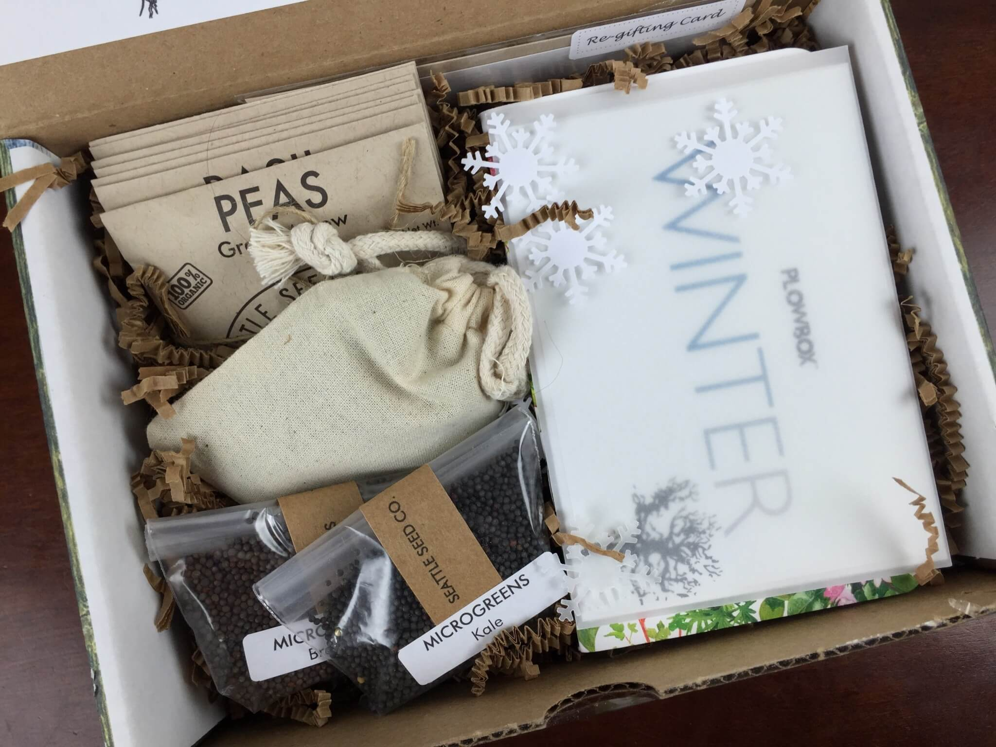 Plowbox Winter 2015 Gardening Subscription Box Review Coupon