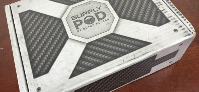 Supply Pod December 2015 Subscription Box Review & Coupon – Star Wars Box