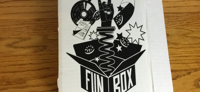 Fun Box Monthly January 2016 Subscription Box Review