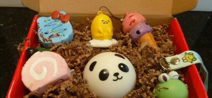 The Squishy Box Subscription Review – January 2016