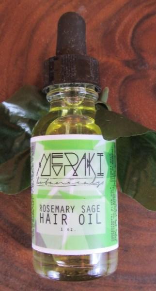 Meraki Rosemary Sage Hair Oil