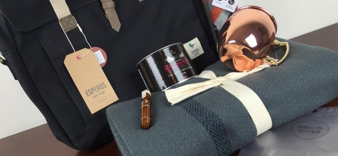 POPSUGAR Must Have 2015 Special Edition Holiday for Him Box Review