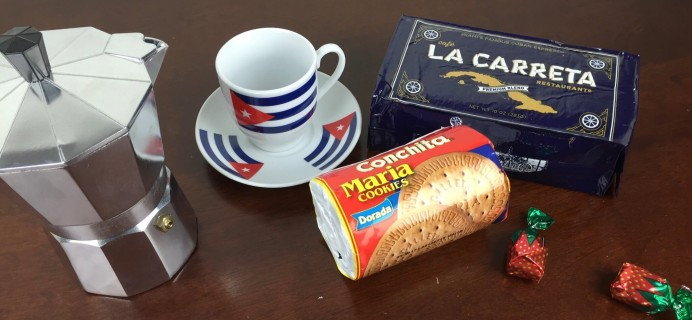 Abuela Mami Cuban Subscription Box Review & Coupon – December 2015
