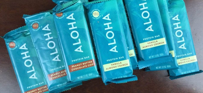 ALOHA Protein Bars Review & Free Trial Deal