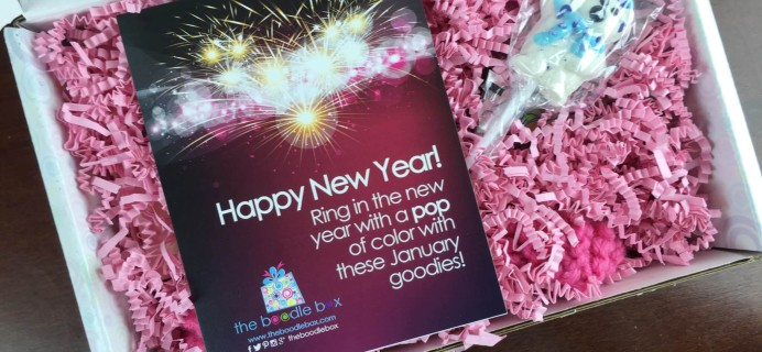 Boodle Box January 2016 Subscription Box Review