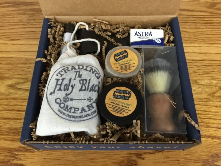 As you can see, Chisel Shave Club is all about presentation. Upon