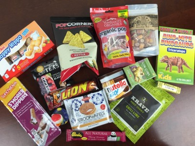 EatsieBox January 2016 Snack Subscription Box Review & Coupon