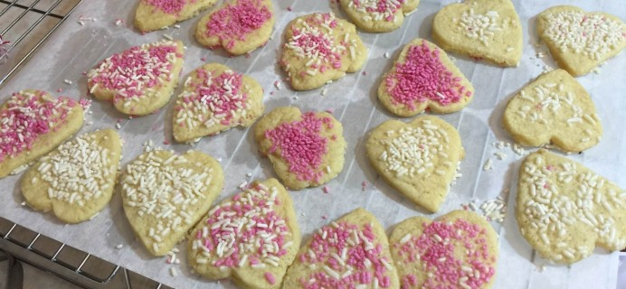 Foodstirs January 2016 Subscription Box Review – Heart Cookies