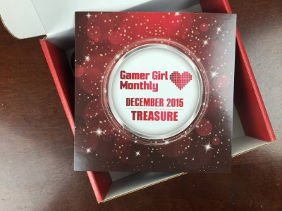 Gamer Girl Monthly December 2015 Subscription Box Review