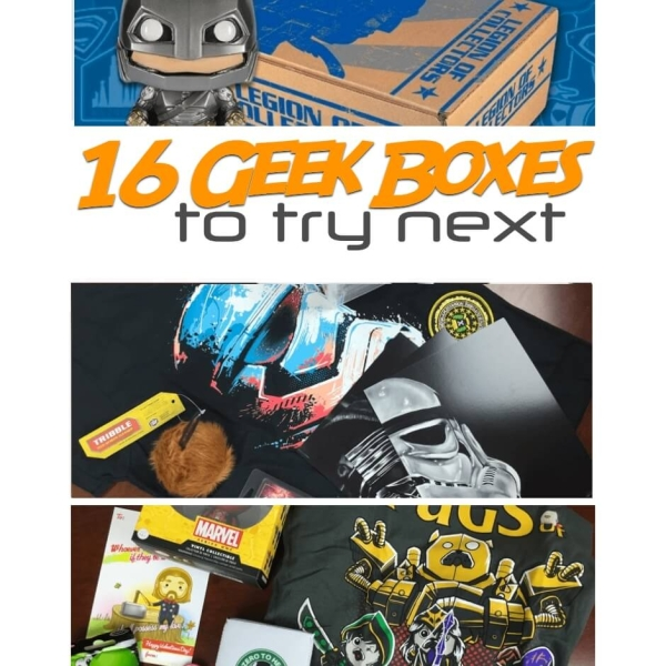 geek subscription boxes like loot crate