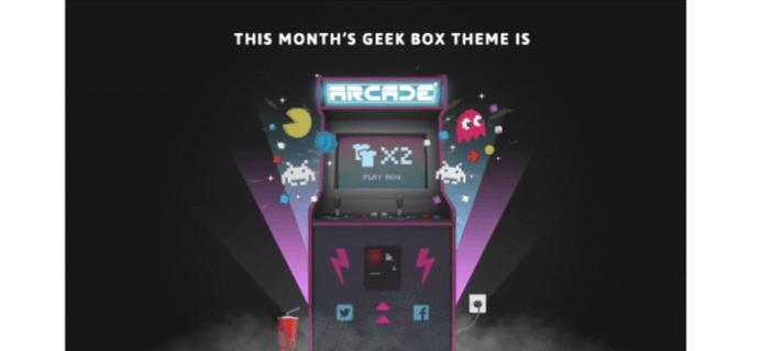 My Geek Box February 2016 Theme Spoilers
