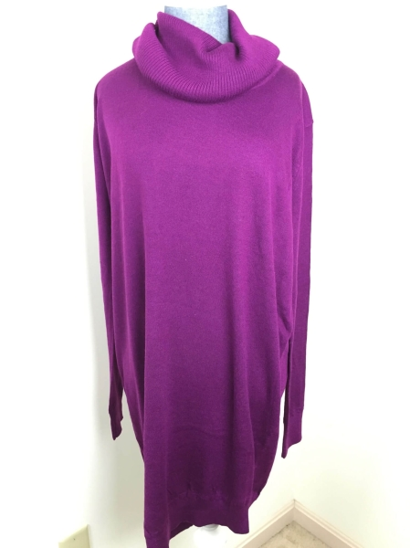 january 2016 golden tote Lumiere Cowl Neck Sweater Dress