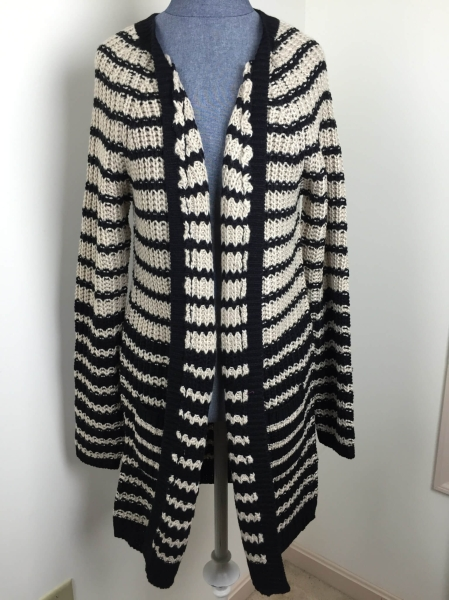 january 2016 golden tote Miracle Tiger Stripe Cardi