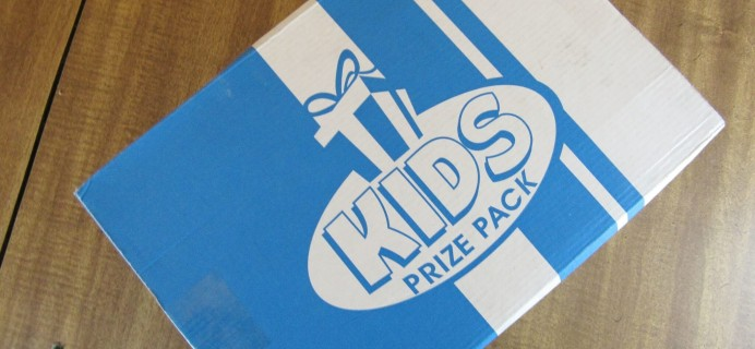 Kids Prize Pack Subscription Box Review & Coupon – January 2016