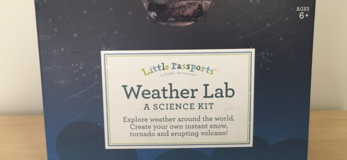 Little Passports Weather Lab Science Kit Review