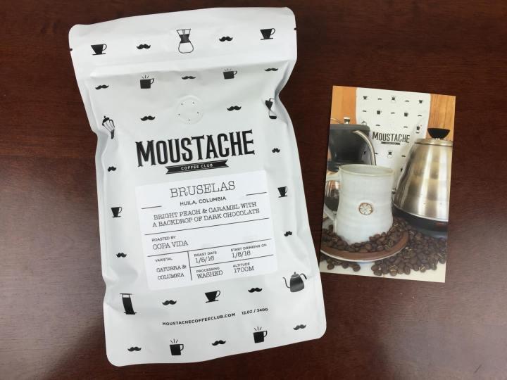 moustache coffee club january 2016 coffee