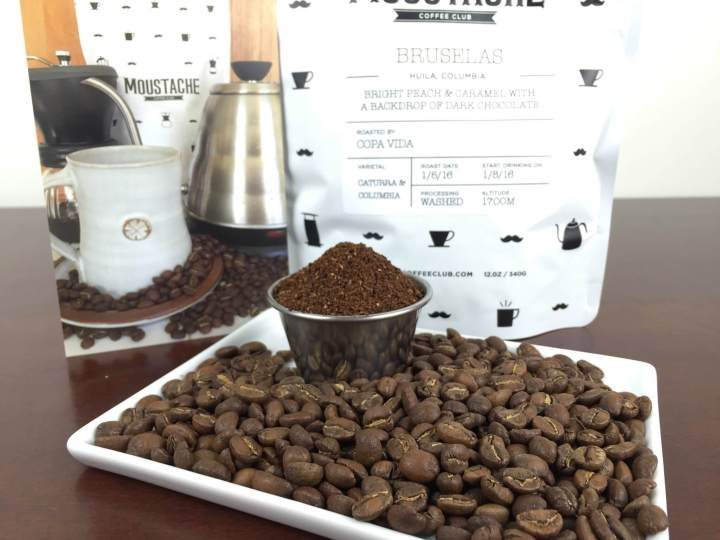 moustache coffee club january 2016 review