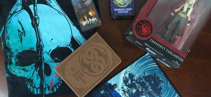 Nerd Block January 2016 Subscription Box Review + Coupon Codes