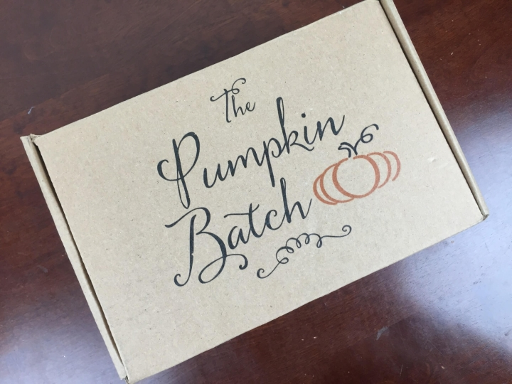 pumpkin batch january 2016 box