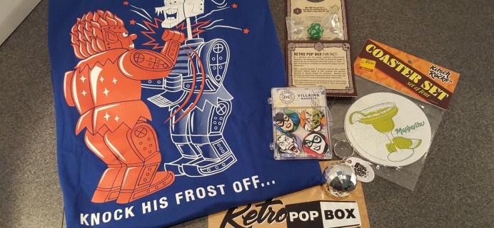 Retro Pop Box Subscription Box Review + Coupon – December 2015 70's Box