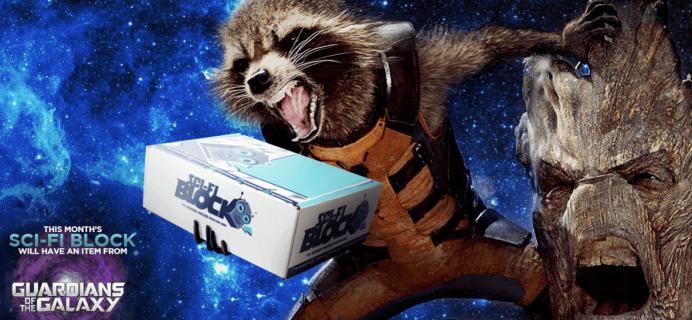 Sci-Fi Block February 2016 Spoilers + Coupon!