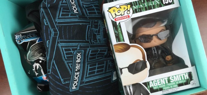 Sci-Fi Block January 2016 Subscription Box Review + Coupon Code