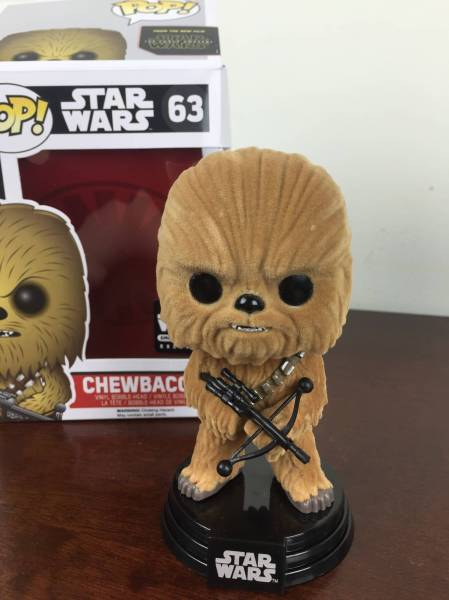 smugglers bounty january 2016 flocked chewbacca