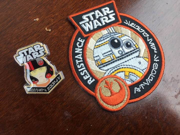 smugglers bounty january 2016 pin patch