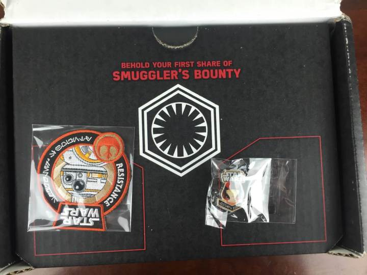 smugglers bounty january 2016 unboxing