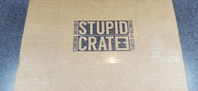 StupidCrate January 2016 Subscription Box Review & Coupon