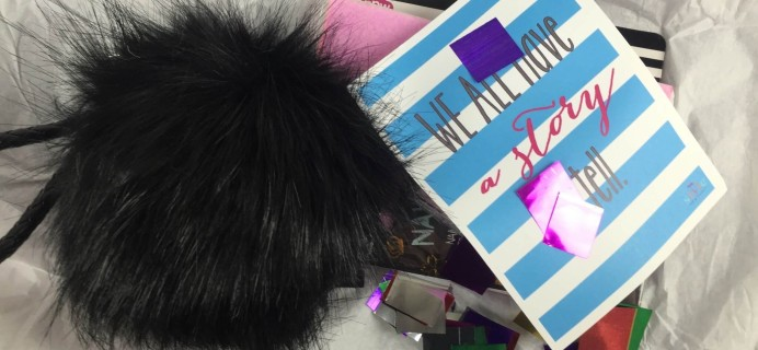 Style Your Life Sprinkles January 2016 Teen Subscription Box Review & Coupon