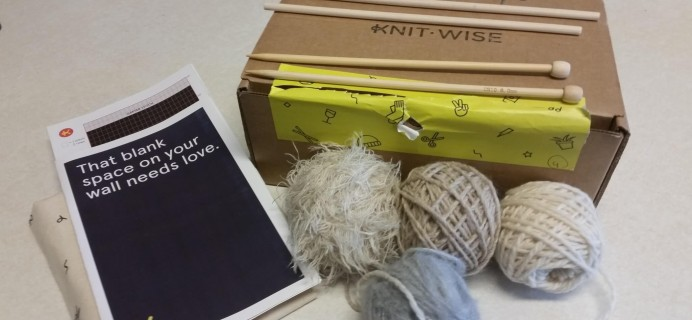 Knit-Wise Subscription Box Review – February 2016