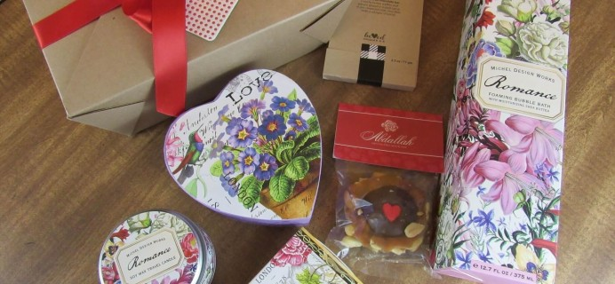 Artistry Gifts February 2016 Special Edition Box – Valentine's Day