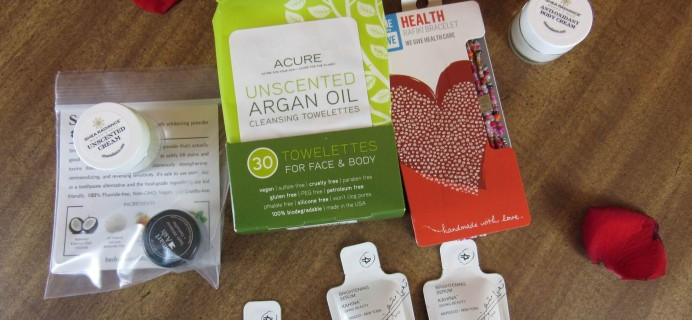 Goodbeing Subscription Box Review – February 2016
