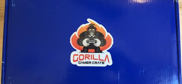 Gorilla Gamer Crate February 2016 Subscription Box Review & Coupon