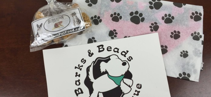 Barks & Beads Subscription Box Review & Coupon – February 2016