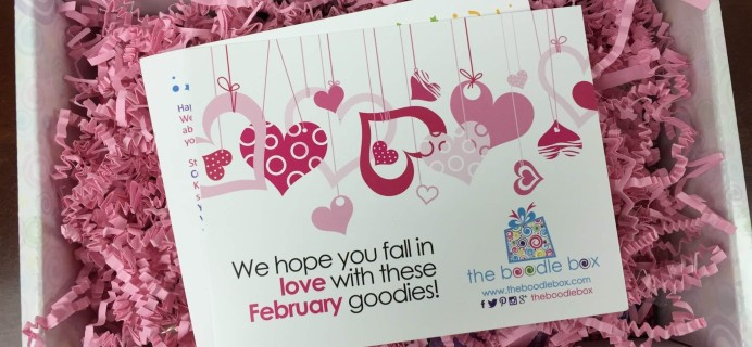 Boodle Box February 2016 Subscription Box Review