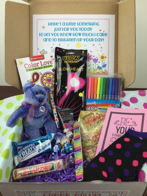 Cheer 'em Up March 2016 Subscription Gift Box Review
