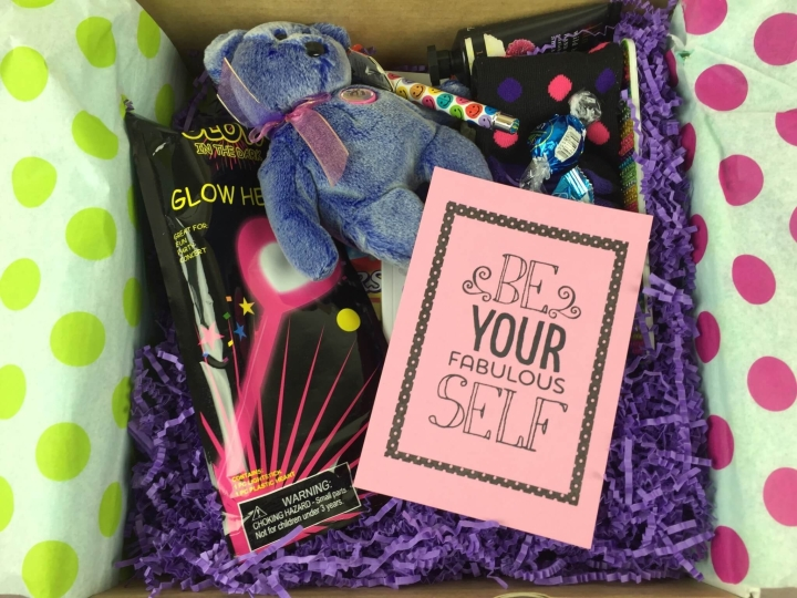 cheer em up box february 2016 unboxed