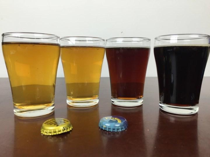 craft beer club february 2016 beers