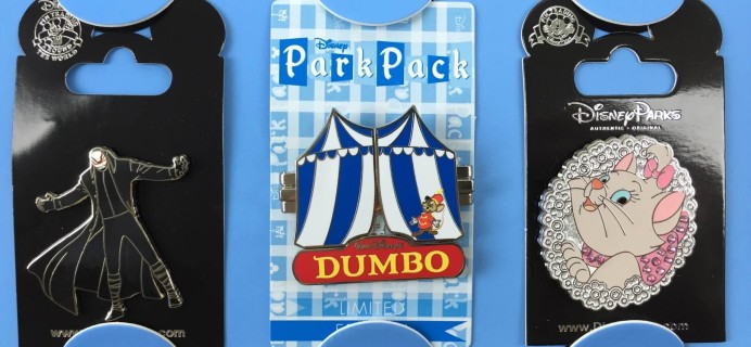 Disney Park Pack February 2016 Subscription Box Review – Pin Trading Box