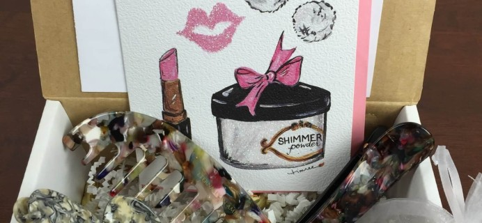 Eternally in Amber Subscription Box Review & Coupon January-February 2016